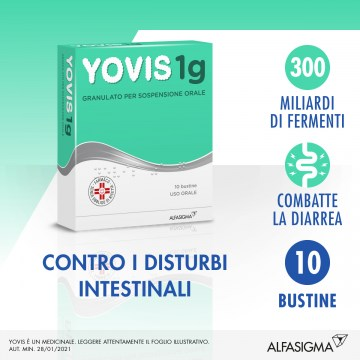 Yovis 1g granulato fermenti lattici 10 bustine