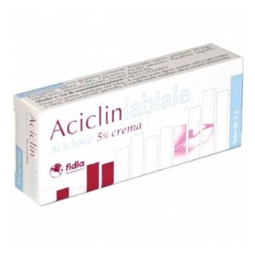 Aciclinlabiale 5% herpes crema dermatologica 2 g