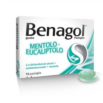 Benagol Mentolo e Eucalipto 16 pastiglie Gola