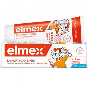 Elmex Dentifricio Bimbi 0-6 anni tubetto 50 ml