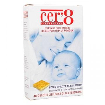 Cer'8 Zanzare Cerotto Anti-zanzare 48 cuscinetti