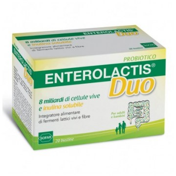 Enterolactis Duo Integratore Probiotici 20 bustine