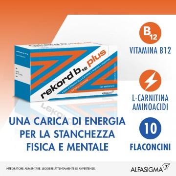 Rekord B12 Plus Integratore Vitaminico 10 flaconi