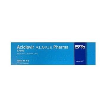 Aciclovir 5% almus crema dermatologica 3 g