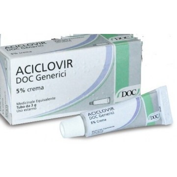Aciclovir doc crema 3g 5% per herpes simplex