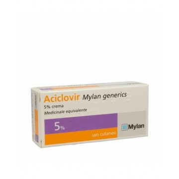 Aciclovir my crema 3g 5% per herpes simplex