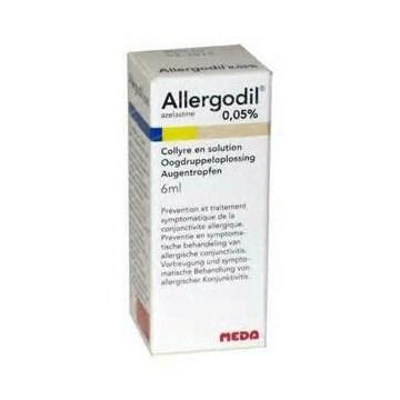 Allergodil collirio antiallergia flacone 6ml 0,05%