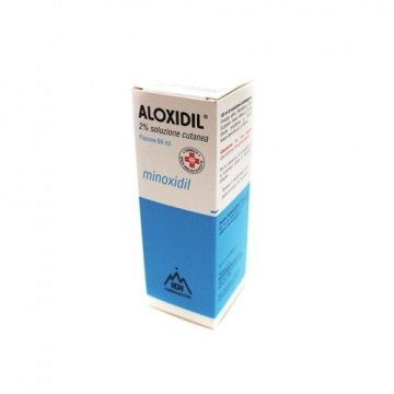 Aloxidil Soluzione 2% Anticaduta 60 ml