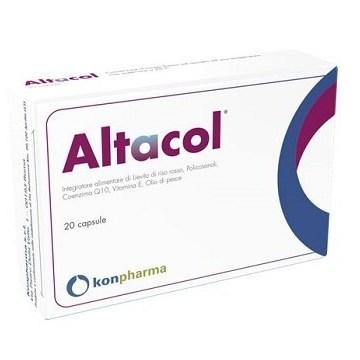 Altacol Integratore contro il Colesterolo 20 capsule