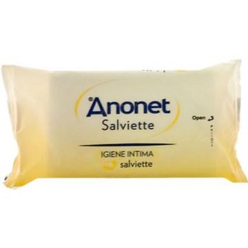 Anonet Salviettine Intime Detergenti 15 pezzi