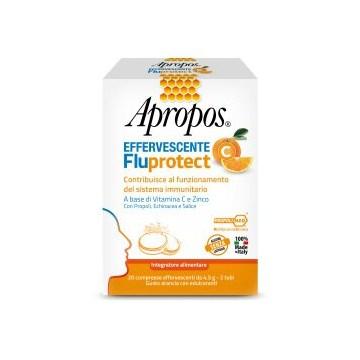 Apropos Effervescente Fluprotect Vitamina C 20 compresse