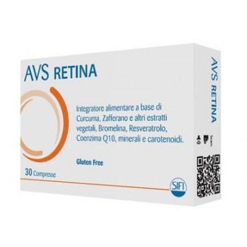 AVS Retina Integratore Antiossidante Vista 30 compresse