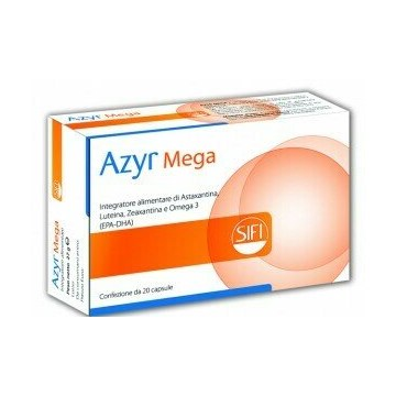 Azyr Mega Integratore Benessere Occhi 20 capsule