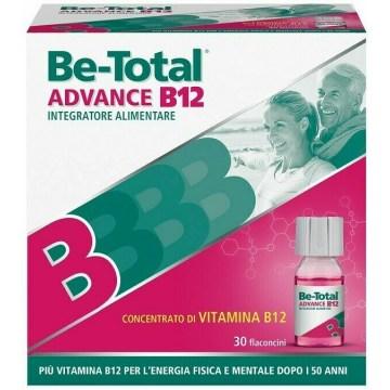 Be-Total Advance B12 Integratore vitamina B12 30 flaconcini