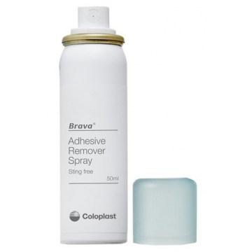 Brava spray remover per distacco dolce adesivi e dispositiviper stomia 50 ml