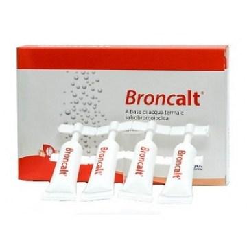 Broncalt soluzione di irrigazione nasale 10 flaconcini da 5ml