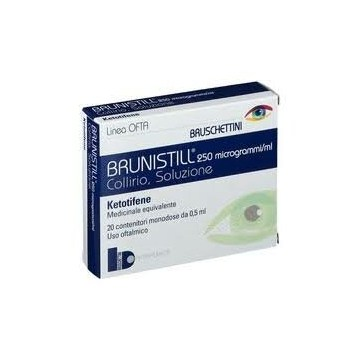 Brunistill 0,025% Collirio Antiallergico 20 flaconcini