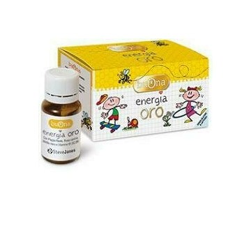 Buona energia oro vitamine  10 flaconcini