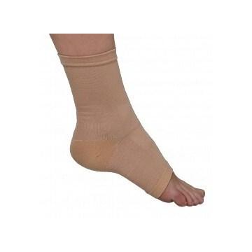 Cavigliera calzino in cotone camel gibaud misura 4