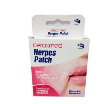 Ceroxmed herpes patch 15 cerottini