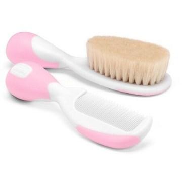 Chicco spazzola + pettine rosa