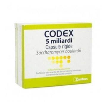 Codex 5 miliardi fermenti 250 mg 12 capsule