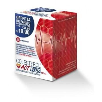 Colesterol Act Plus Integratore Colesterolo 60 compresse