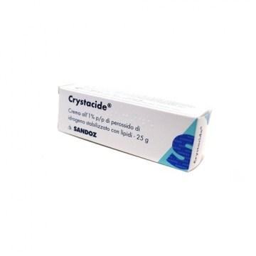 Crystacide crema 25g 1% disinfettante