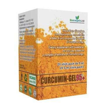 Curcumin gel 95+ 20 bustine da 5 ml