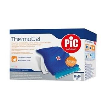 Cuscino thermogel comfort riutilizzabile per la terapia delcaldo e del freddo cm 20x30 con cover
