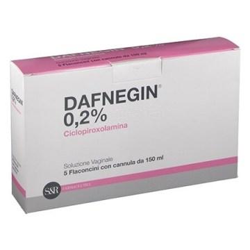 Dafnegin lavanda vaginale 5 flaconi 150 ml 0,2%