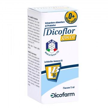 Dicoflor Integratore di Probiotici in gocce 5ml