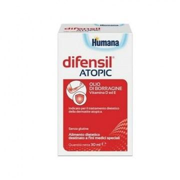 Humana difensil atopic olio borragine dermatite atopica 30 ml