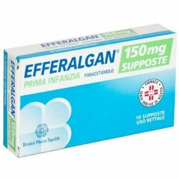 Efferalgan 150 mg Prima Infanzia 10 supposte