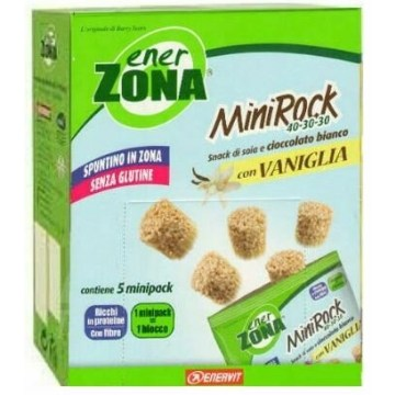 Enerzona minirock 40-30-30 astuccio 5 minipack vaniglia