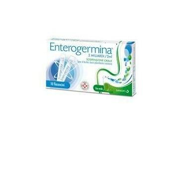 Enterogermina 2mld per disturbi intestinali 10 flaconi
