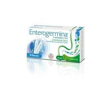 Enterogermina 2mld per flora batterica 20 flaconi