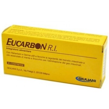 Eucarbon RI per Migliorare il Transito Intestinale 40 compresse