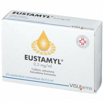 Eustamyl antistaminico 25 flaconcini monodose 0,5 ml 0,05%
