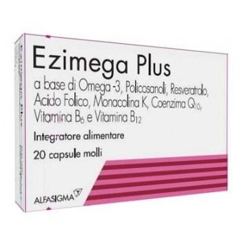 Ezimega Plus Integratore alimentare colesterolo 20 capsule