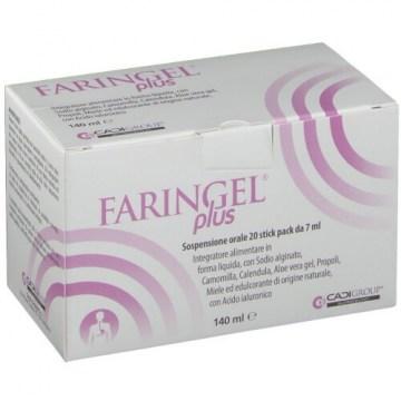 Faringel Plus Reflusso e Infiammazioni Orali 20 stick pack 7 ml