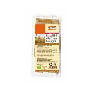 Fior di loto biscottini alla crusca con fruttosio 200 g
