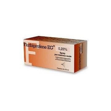 Flurbiprofene 0,25% epifarmaspray mucosa orale 15 ml