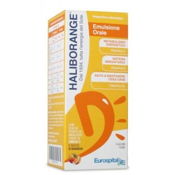 Haliborange Integratore Multivitaminico e Omega 3 150 ml Sciroppo