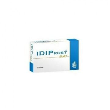 Idiprost Gold per l'Ipertrofia Prostatica 15 capsule