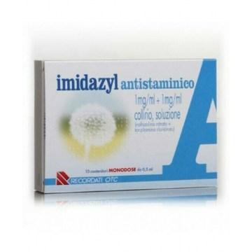 Imidazyl 0,1% Antistaminico collirio monodose 10 flaconi
