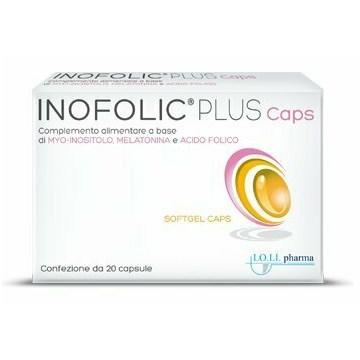 Inofolic Plus Caps Integratore di acido folico 20 capsule