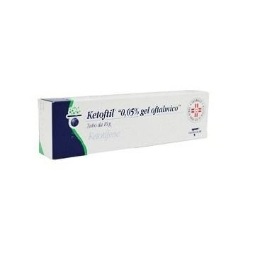 Ketoftil 0,05% gel oftalmico 10 g
