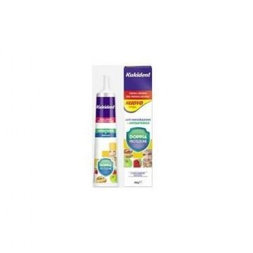 Kukident Plus Doppia Protezione Crema Adesiva Protesi dentarie 40 g