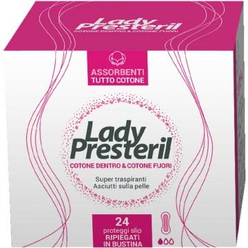 Lady Presteril Proteggi Slip Pocket 100% Cotone 24 pezzi